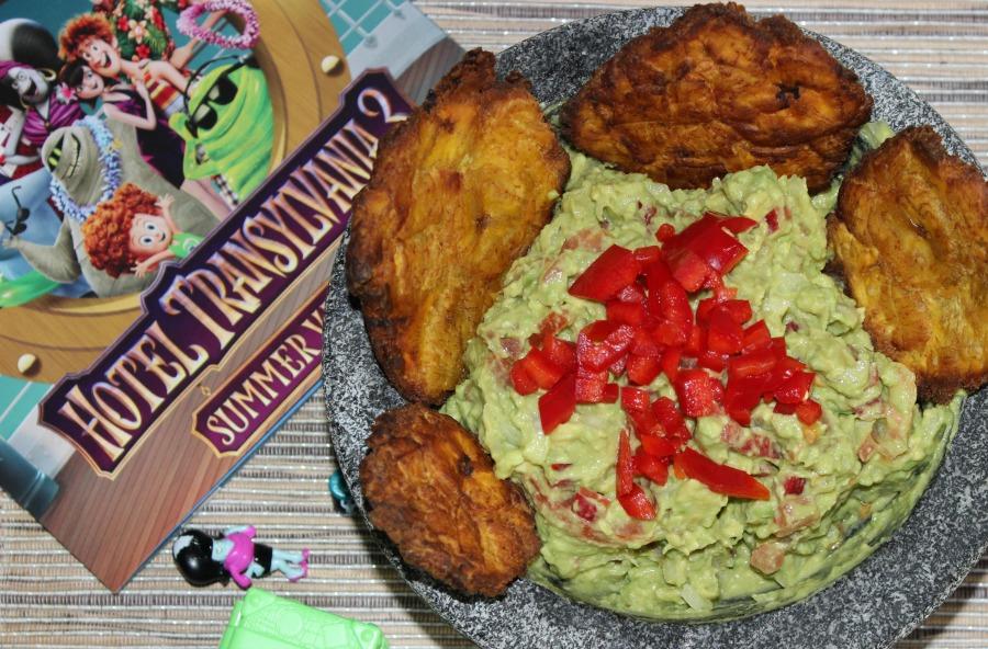 receta, guacamole, hotel transylvania, romina tibytt, blogger, food, latin recipes