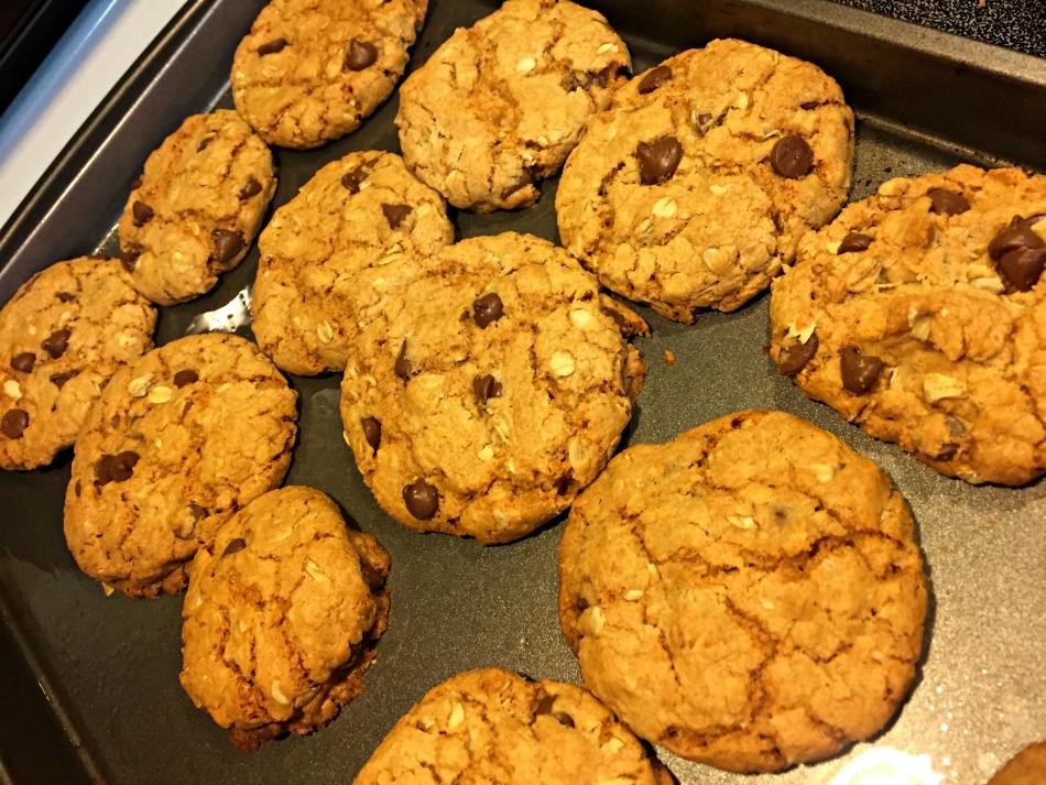 cookies, chocolate chips, avena, cookies, receta