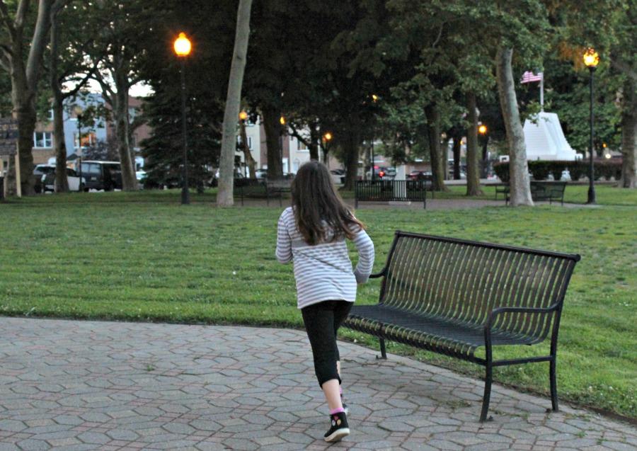 parque, correr