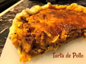 tarta pollo, receta, masa tarta, receta tarta