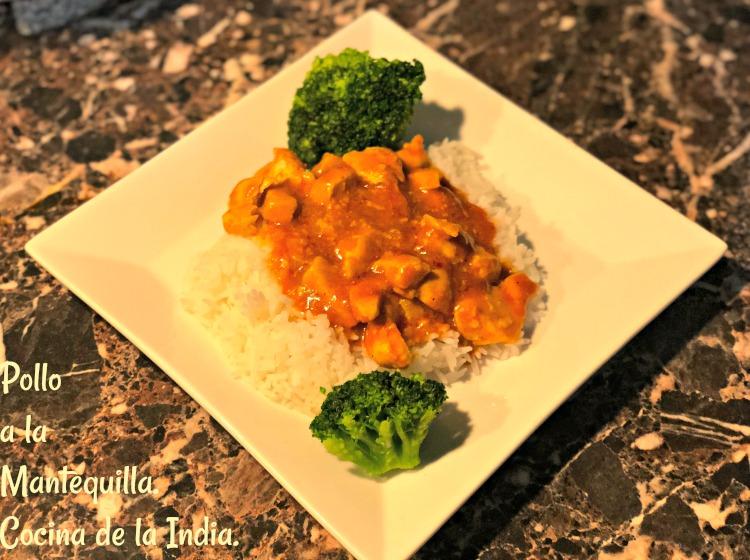 Butter Chicken, Pollo mantequilla india, receta