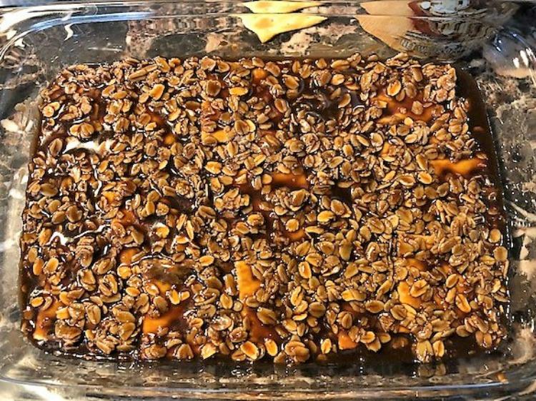 turrón avena, chocolate, avena, quaker, receta