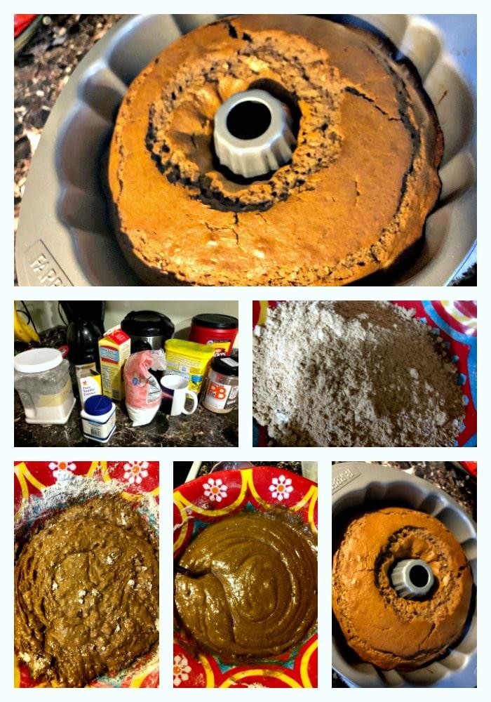 receta, chocolate, mantequilla de mani, nesquik