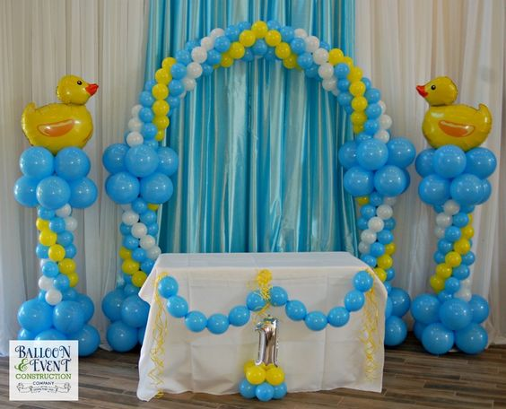 Globos Patos Baby Shower