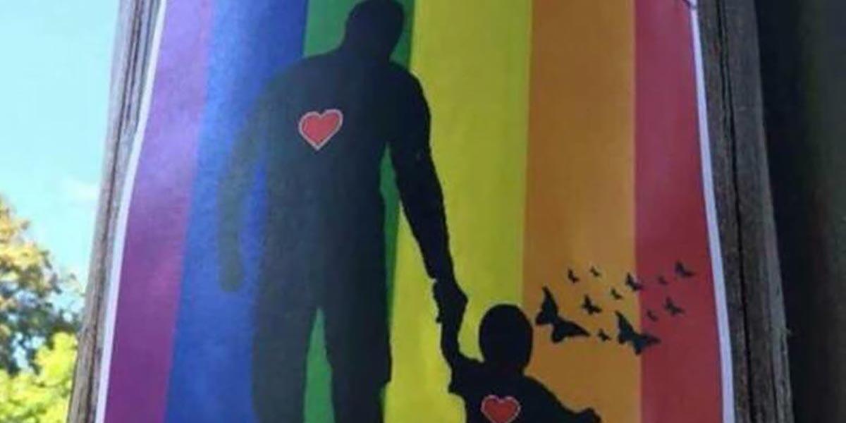 Rainbow Flag Used To Link Lgbtq Community With Pedophilia