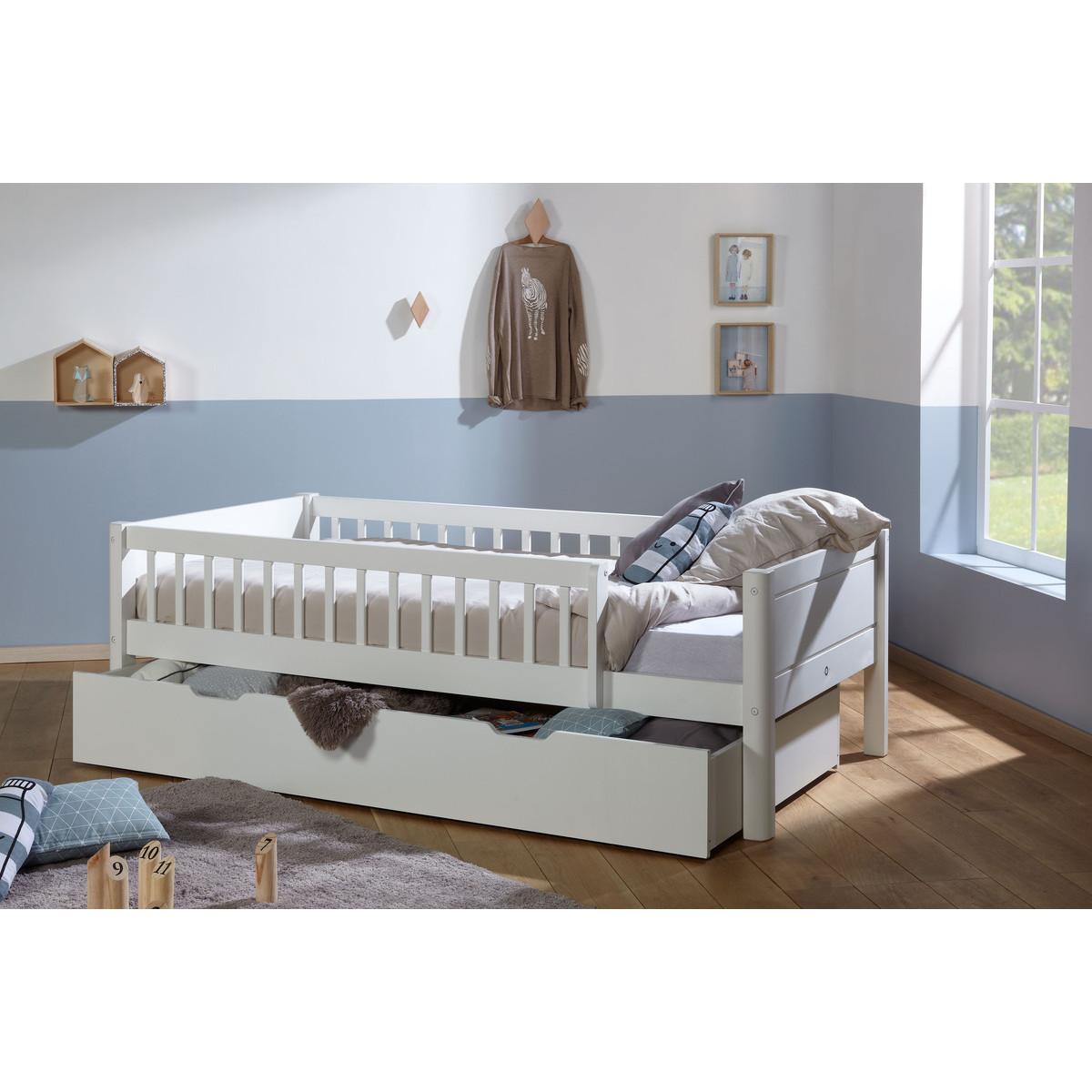 lit enfant avec barrieres modulables julia