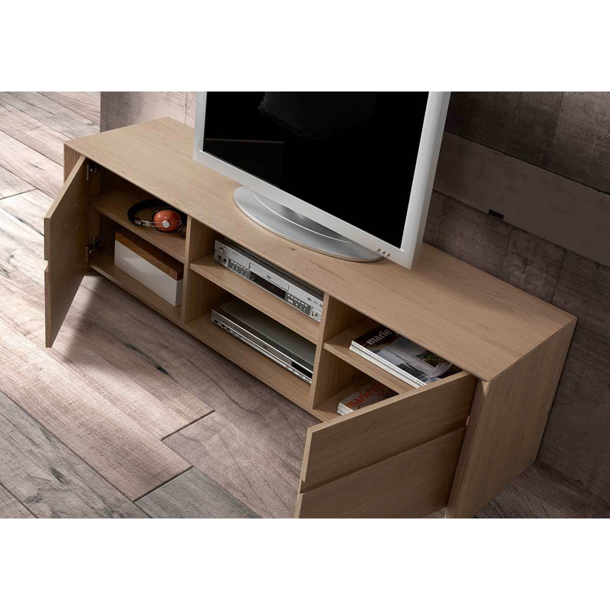 meuble tv en bois solna