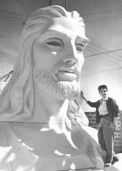 Il Cristo dell'Avana e Jilma Madera
