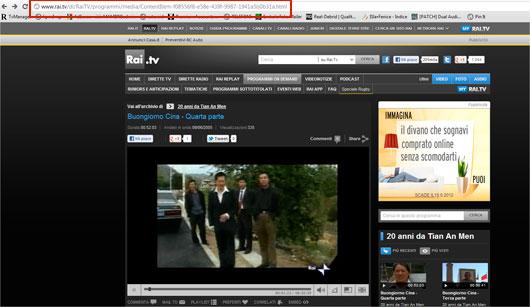 come scaricare video da rai news