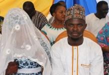 Muhammad Awwal Iddriss weds Diamond
