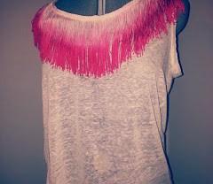 DIY: cómo poner flecos a una camiseta