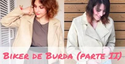 EL COSE CONMIGO LA BIKER DE BURDA LLEGA A SU FIN, HOY LA PARTE II
