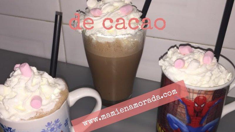 Batido de crema de cacao
