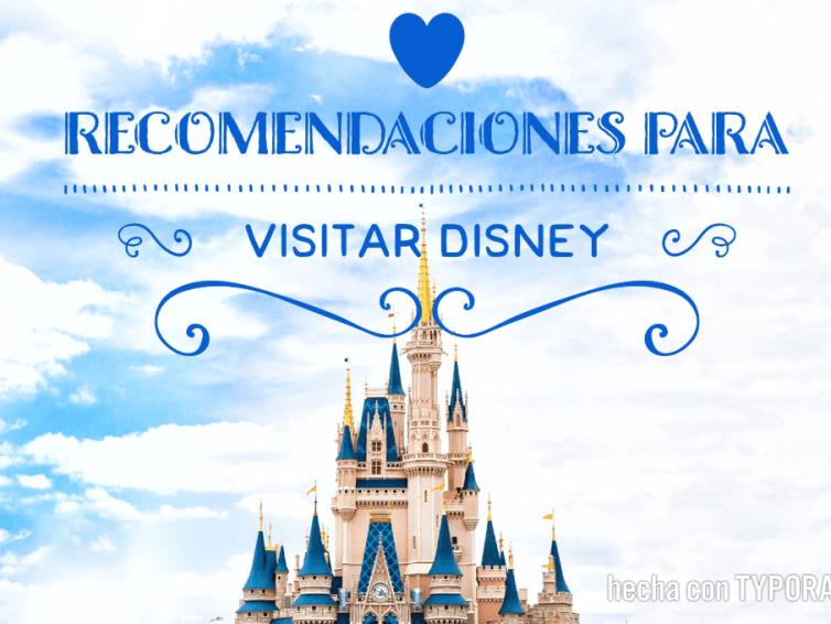 Recomendaciones para Disney.