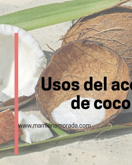 ¿Sabías la cantidad de usos que tiene el aceite de coco? Hoy os contare unos cuantos uso y beneficios pero hay muchos más.