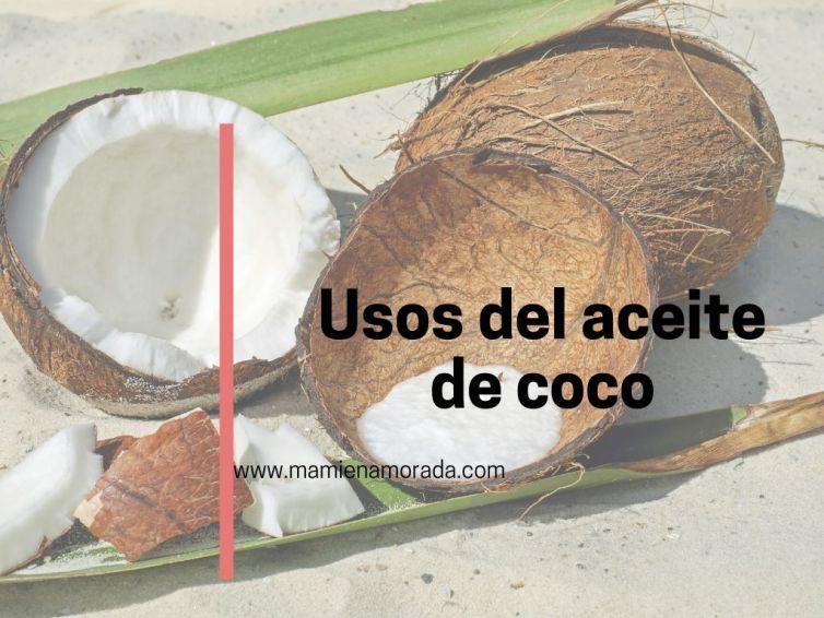 El aceite de coco.