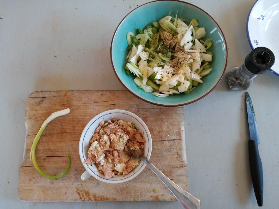 Ces rillettes de thon se préparent en moins de dix minutes et feront un apéritif parfait à tartiner sur du pain grillé.