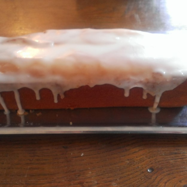 Lemon Cake à l'anglaise