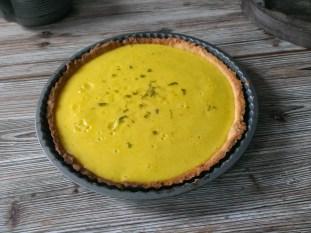 Tarte au citron mojito