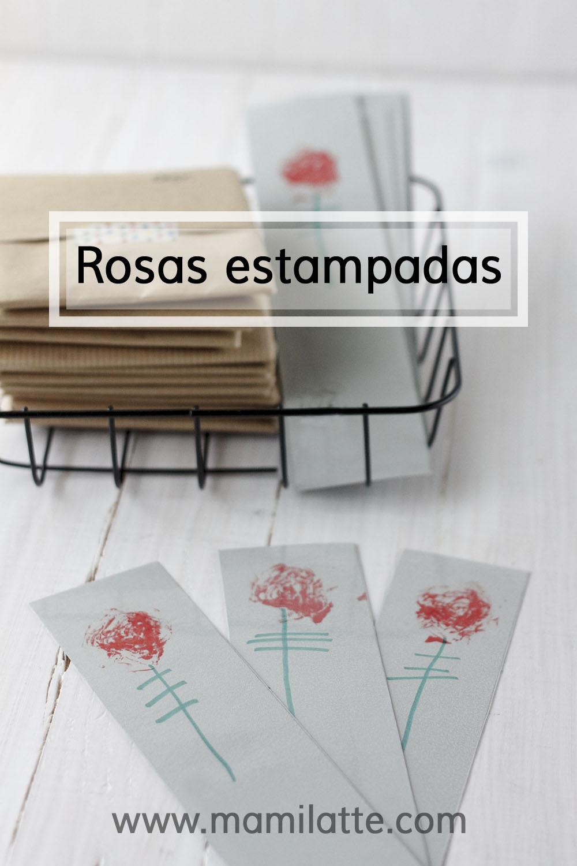 Mamilatte Rosas Estampadas Manualidades