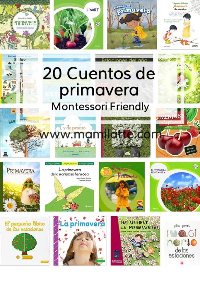 20 cuentos sobre la primavera. Montessori friendly. – Mamilatte