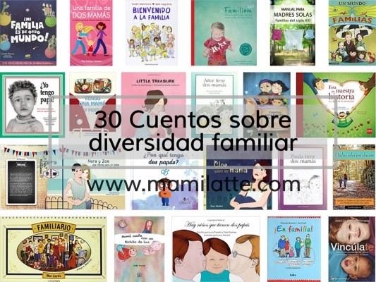 30 Cuentos sobre diversidad familiar
