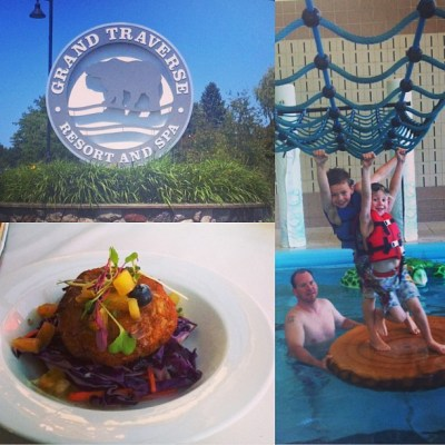Experience the Grand Family-Friendly Fun at the Grand Traverse Resort and Spa #MOMKGTResort