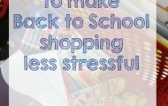 5 Tips To Make Back-To-School Shopping Less Stressful