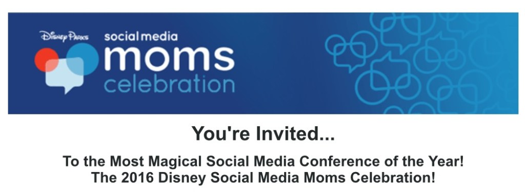 Disney Social Media Moms Celebration Heading Pic