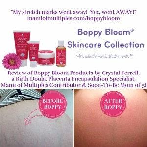 Boppy Bloom Before & After Picture
