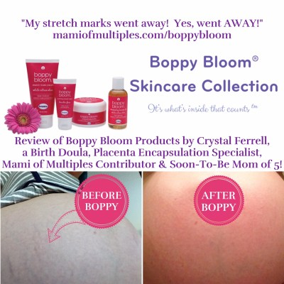 Boppy Bloom Skincare Collection Review by a Doula Mami