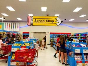 School Shop at Target