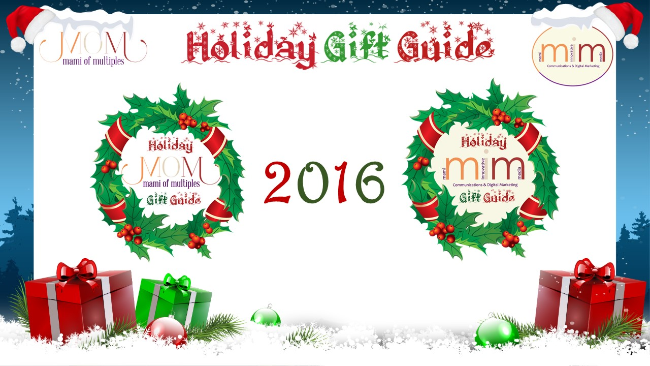 2016 Mami of Multiples and Mami Innovative Media Holiday Gift Guide