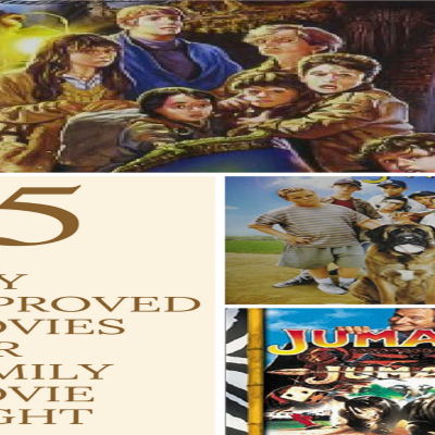 25 Boy Approved Films for Family Movie Night