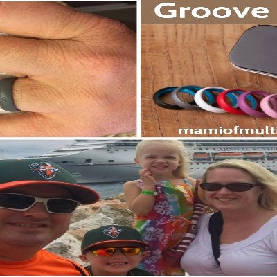 Groove Rings, Breathable Silicone Rings Designed For Active Living