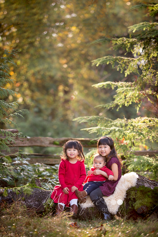 Fall Photoshoot Kids in Sunny Vancouver portrait
