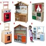 Cocinas de madera para los niños