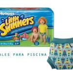 Pañales para la piscina
