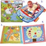 Mantitas para juegos para los bebés