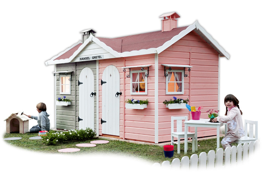 Casas infantiles de jardin top una casita de juegos es un for Casa infantil jardin