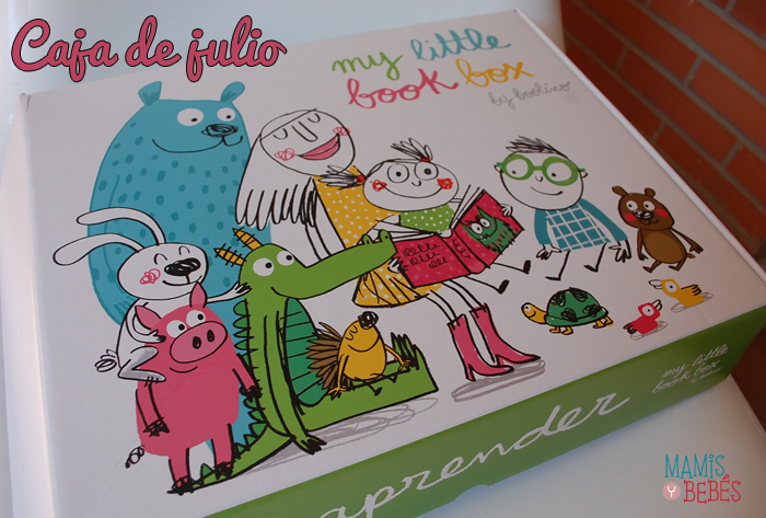 Libros infantiles - My Little Book Box julio 01