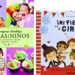 5 libros para preparar una fiesta infantil