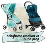Babyhome Emotion vs Nuna Pepp
