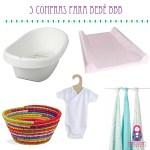 Compras baratas y muy útiles si vas a tener un bebé