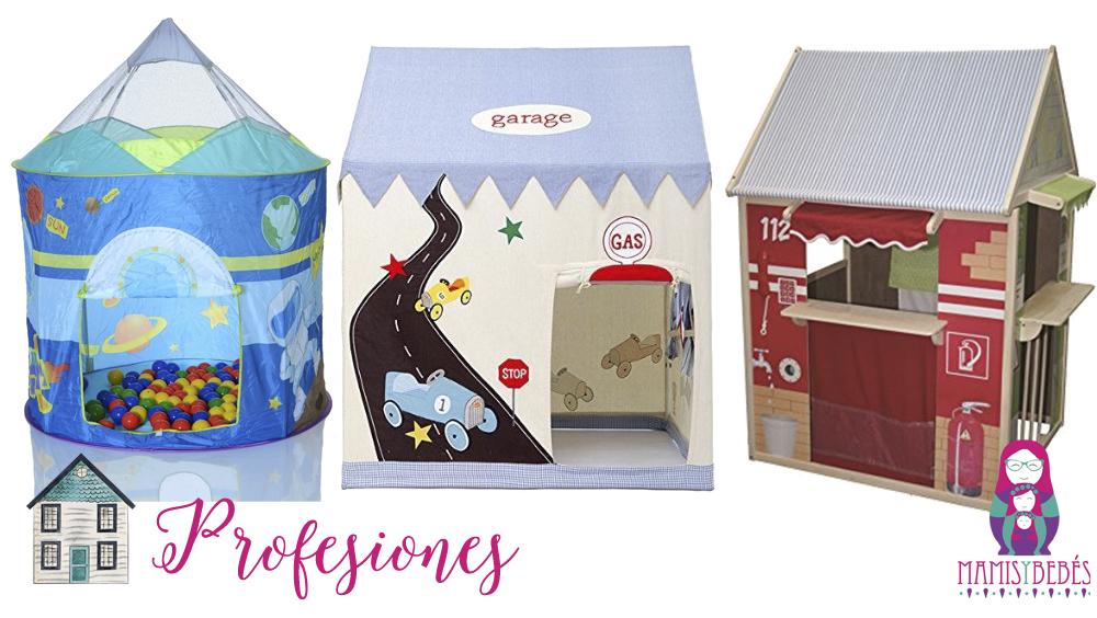 Casitas de tela para los ni os y mayores mamis y beb s for Casita de plastico para ninos carrefour