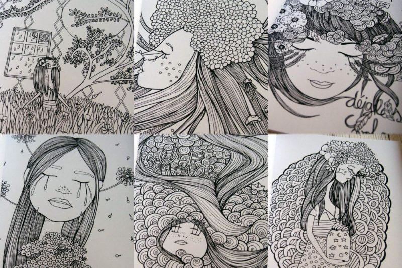 dibujos Verónica maraver
