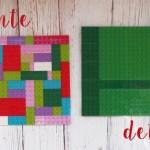 DIY: Tunear un bolso con piezas de Lego