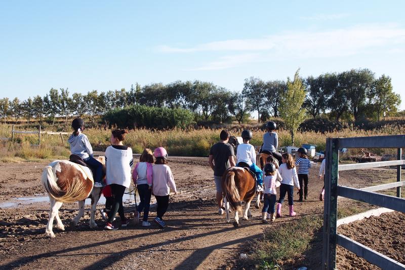 Cumpleaños hípico en el Pony Club Aragón