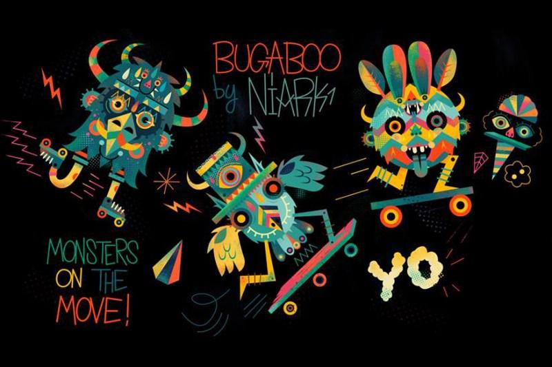 Colección Bugaboo by Niark1: Monstruos en movimiento