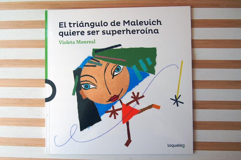 Arte y literatura: El triángulo de Malevich quiere ser superheroína